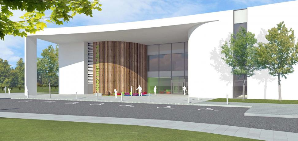 Moray Sports Centre - Artists Impression